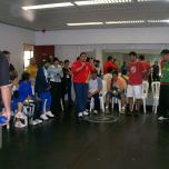 Winter Games - sport events adapted for schools, 2011