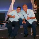 During Beijing 2008, TV commentator - SPORT TV, with Alberto Bial