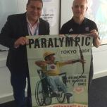 EASM conferece with Dr Ian Brittain. Remember Tokyo 1964 Paralympic Games - 50th anniversary (Original Poster)