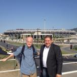 Visiting the Olympic Venues in rio de Janeiro - March 2015