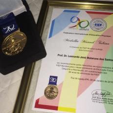 Professor Mataruna was honored because of his career.